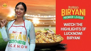 Lucknowi biryani: fortune biryani premier league!