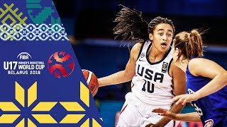 USA v Italy - Full Game - FIBA U17 Women's Basketball World Cup 2018