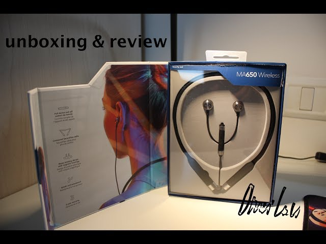 RHA MA650 UNBOXING & REVIEW
