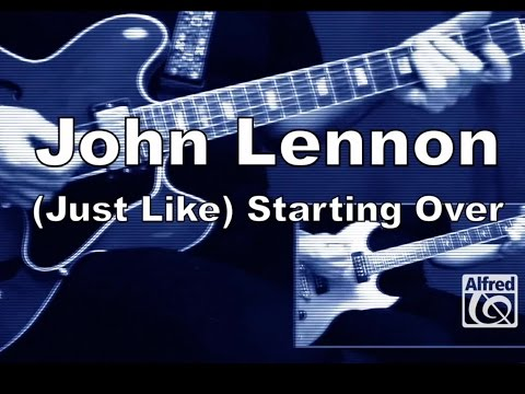 "How to Play ""(Just Like) Starting Over"" by John Lennon on Guitar - Lesson Excerpt"