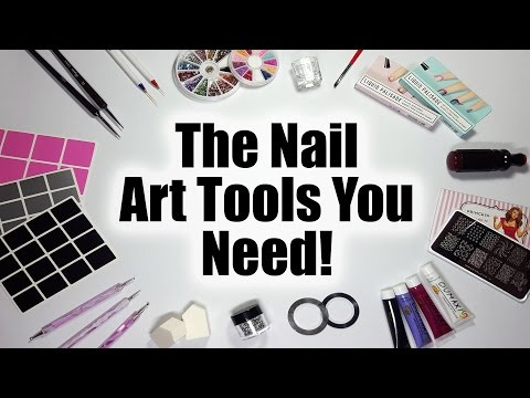 The Nail Art Tools You Need - A Nail Art Guide For Beginners