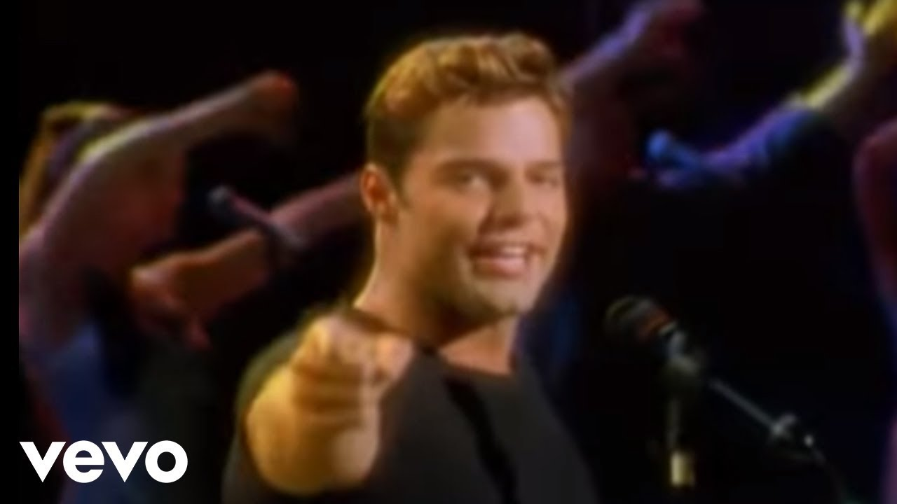 Ricky Martin La Copa De La Vida Video Spanish Remastered Youtube
