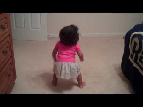 18 month old dancing to her favorite song  Beyonce