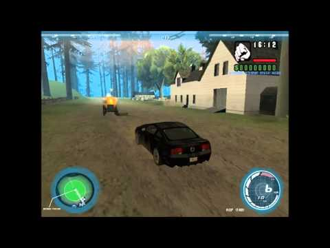 Gta San Andreas Mod Gameplay - Knight Rider New Generation 2008 + Download Link!