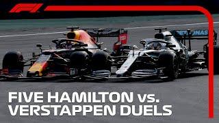 Five Epic Lewis Hamilton vs. Max Verstappen Duels
