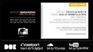 DBE002 Pacco Rudy B Age Of Manipulation Original Mix