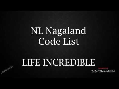 NL Nagaland Code List