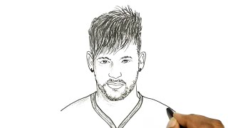 How to Draw Neymar
