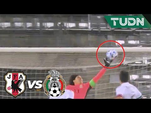 ¡BRUTAL! Qué atajadón de Memo Ochoa   Japón 0-0 México   Amistoso 2020   TUDN