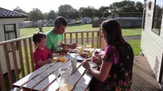 Trevella Holiday Park in Cornwall