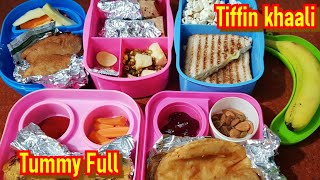 5 Tiffin Recipes For kids | Super Easy & Quick Tiffin Recipes For Kids With Healthy Tips👌👌