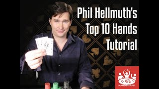 Phil Hellmuth's Top 10 Hands