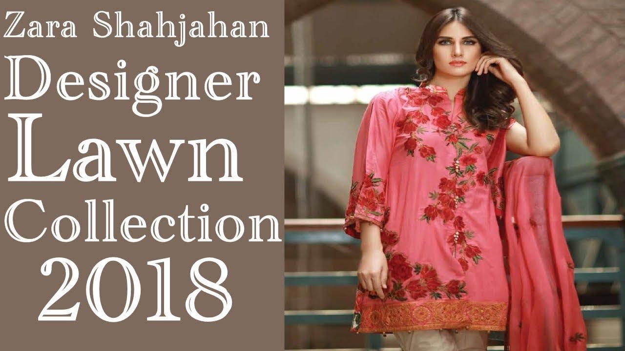 76879a3226 Zara Shahjahan Designer Lawn Collection 2018 - YouTube