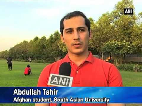 Afghan students in Delhi aspire to take sports professionally