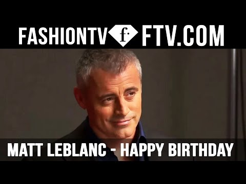 Matt LeBlanc Happy Birthday - 25 July  | FTV.com