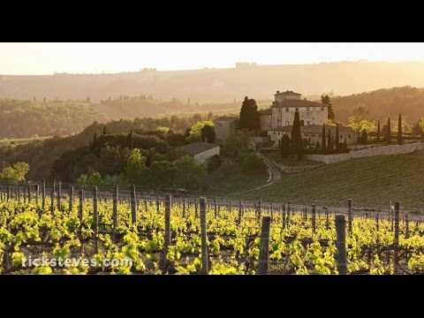 Tuscany, Italy: Chianti Wine and Crete Senesi Regions