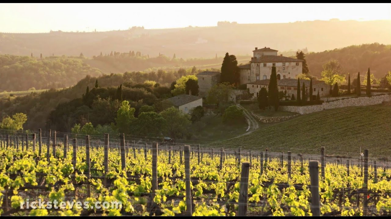 Tuscany Italy Chianti Wine And Crete Senesi Regions