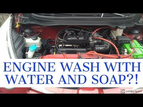 HOW TO WASH YOUR ENGINE WITH WATER AND SOAP FOR HYUNDAI EON