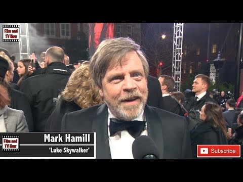 Mark Hamill says at The Last Jedi Premiere he was 'shocked with how very little he had to do'