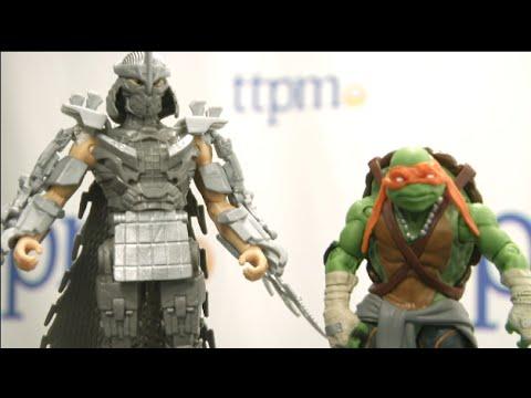 Teenage Mutant Ninja Turtles Movie Action Figures From Playmates Toys