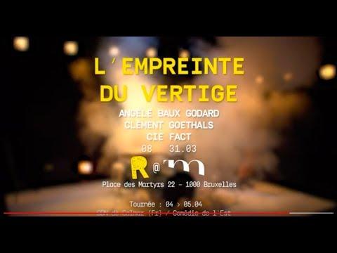 L'EMPREINTE DU VERTIGE - Angèle Baux-Godard