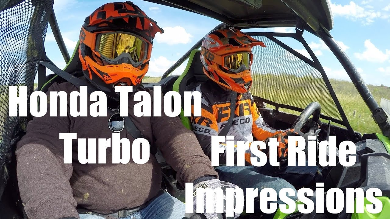 Honda Talon Turbo First Ride Impressions