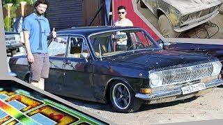 Скачать Грунтование ВАЗ 2103 Занижение Волги ГАЗ 24 Кастом покраска кэнди и флэйки
