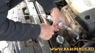 Урок профессионального ремонта радиатора -  professional repair car radiator.