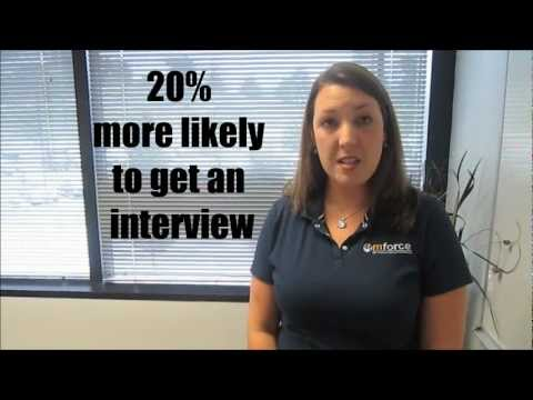 M Force Staffing Recruiter Christina Ellis will help YOU find a job!