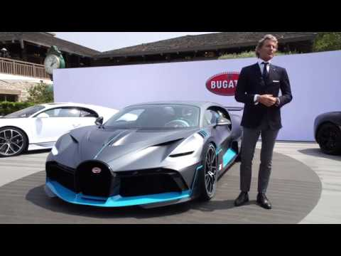 Bugatti Divo - Stephan Winkelmann, President of Bugatti - Unravel Travel TV