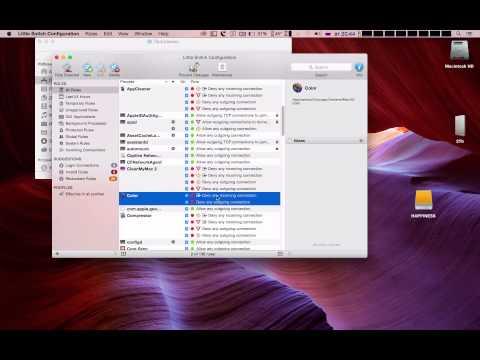 Mac OS Урок Little Snitch