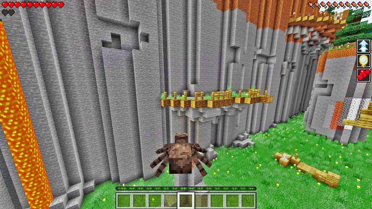Minecraft PARKOUR TAPI Kita Jadi MOB