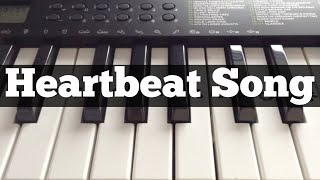 Heartbeat Song - Kelly Clarkson | Easy Keyboard Tutorial With Notes (Right Hand)