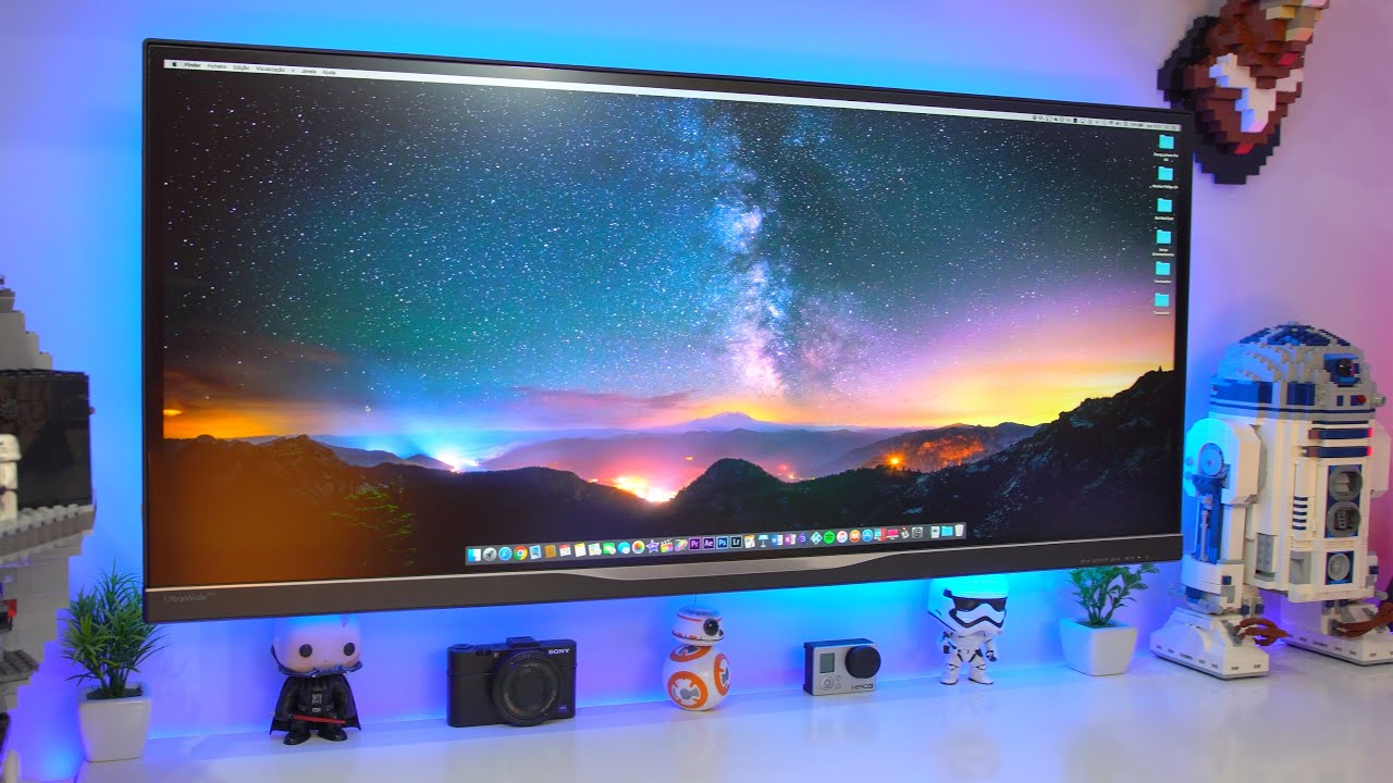 Melhor Monitor Ultrawide?