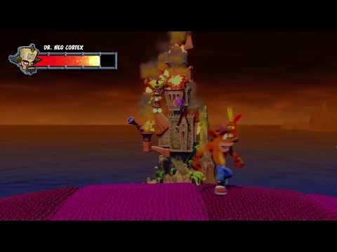Crash Bandicoot N. Sane Trilogy - Crash 1 - Final Boss & Ending (Dr. Neo Cortex)