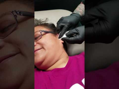 Lorraine M. Rodriguez-aww..cheeseburger....my Daith piercing at DnA Ink in Las Cruces, NEW Mexico