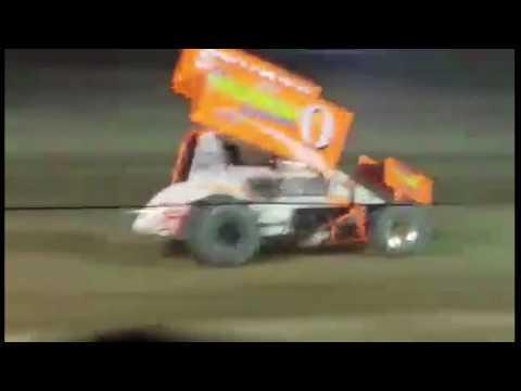 Ransomville Speedway Patriot Sprint Tour Feature 7-29-16