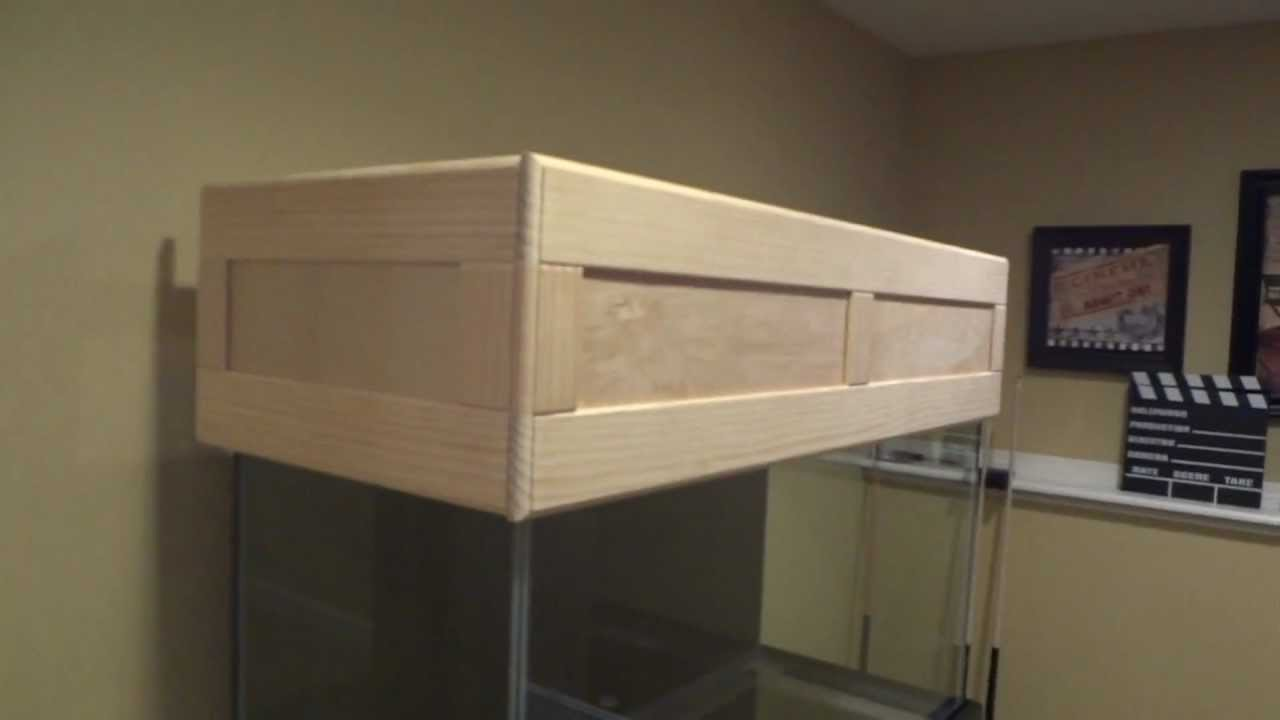 Aquarium fish tank hoods - Reef Tank Canopy Build Youtube