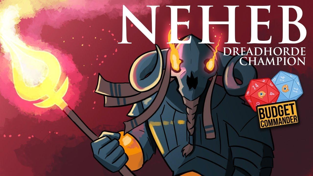 katsella paras paikka ostaa Budget Commander: Neheb, Dreadhorde Champion