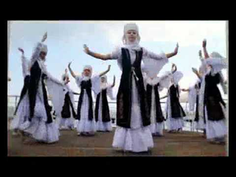 Beautiful Kyrgyz dance!.flv