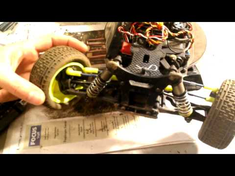 Team Associated B44 steering rack fix and ackerman overview.