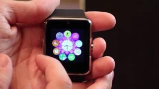 Видео обзор  Умные часы Smart Watch GT 08