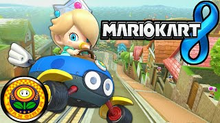 Mario Kart 8: Flower Cup Mirror Baby Rosalina Yoshi Bike Gameplay Walkthrough PART 20 Wii U HD