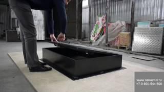 видео Кровельные люки для мансард