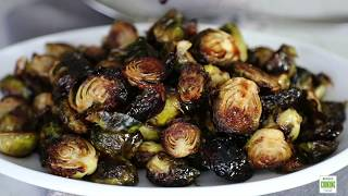 Balsamic Honey Roasted Brussels Sprouts