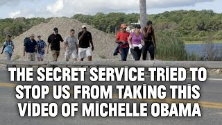 Vocativ just had an Unscripted Moment with Michelle Obama and the Secret Service