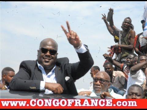 En Direct de Kinshasa : Tshisekedi  et Kamerhe  sont arrivés à l'aéroport de N'djili
