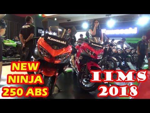 Indonesia International Motor Show IIMS 2018 Jakarta - Indonesia KAWASAKI NEW NINJA 250 ABS