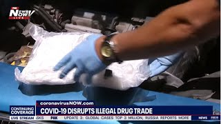 ILLEGAL DRUG TRADE: Stephanie Bennett tells us how Covid-19 disrupts the business