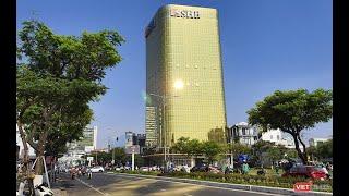 Đà Nẵng yêu cầu thay thế kính ốp hai tòa nhà 'dát vàng'